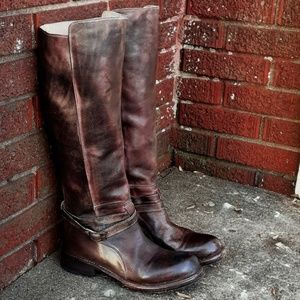 Bed Stu Moto Boots Cobbler Series Size 7 Leather